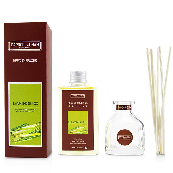 The Candle Company (Carroll & Chan) Reed Diffuser - Lemongrass 100ml
