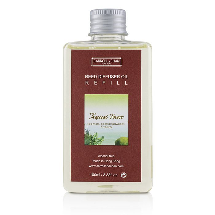 The Candle Company (Carroll & Chan) Reed Diffuser Refill - Tropical Forest 100ml
