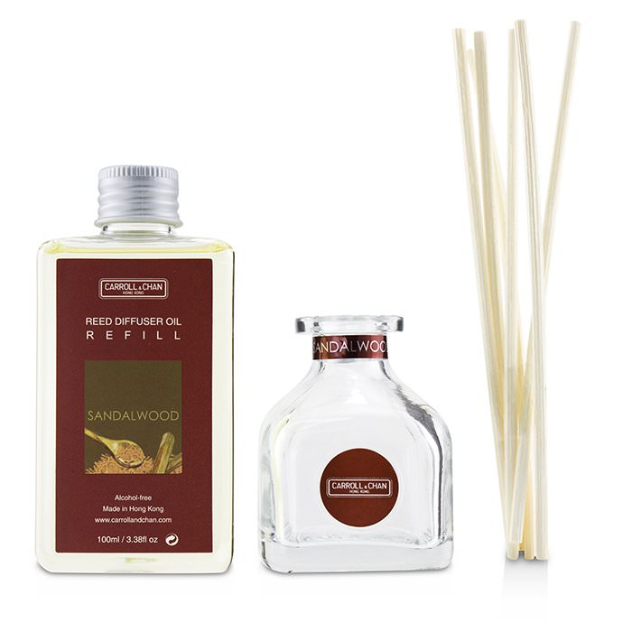 The Candle Company (Carroll & Chan) Reed Diffuser - Sandalwood 100ml