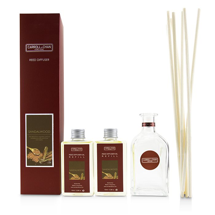The Candle Company (Carroll & Chan) Reed Diffuser - Sandalwood 200ml