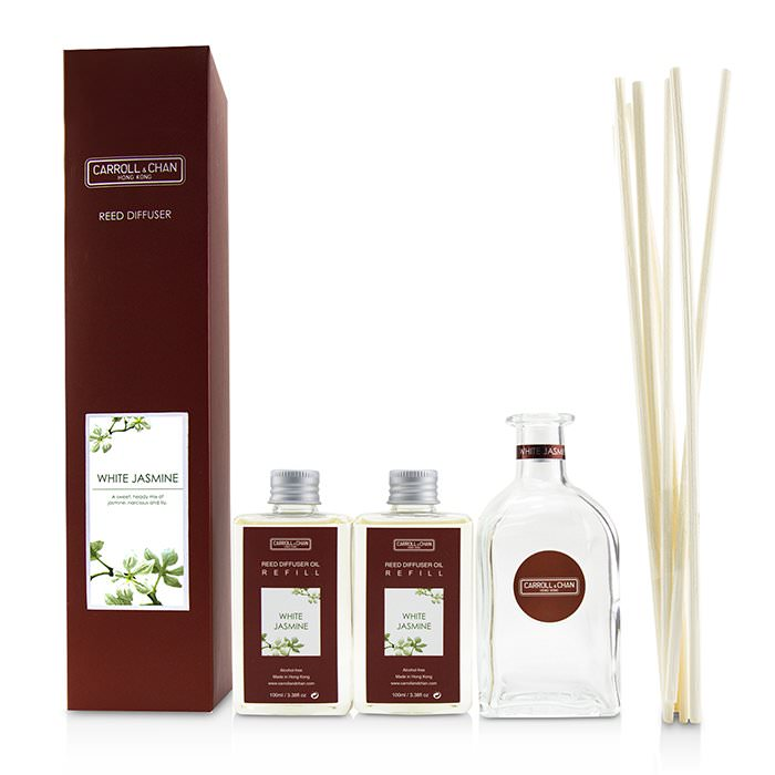 The Candle Company (Carroll & Chan) Reed Diffuser - White Jasmine 200ml