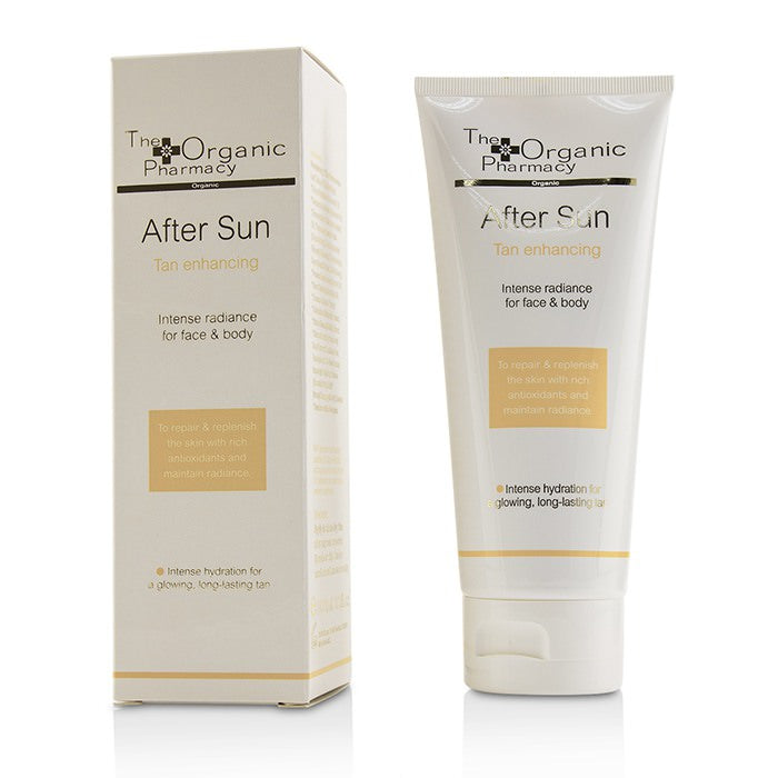 The Organic Pharmacy Cellular After Sun Cream (For Face & Body) - Tan Enhancing 100ml