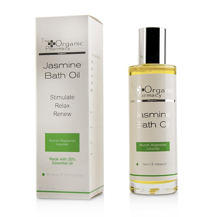 The Organic Pharmacy Jasmine Bath Oil - Sensual & Intoxicating 100ml