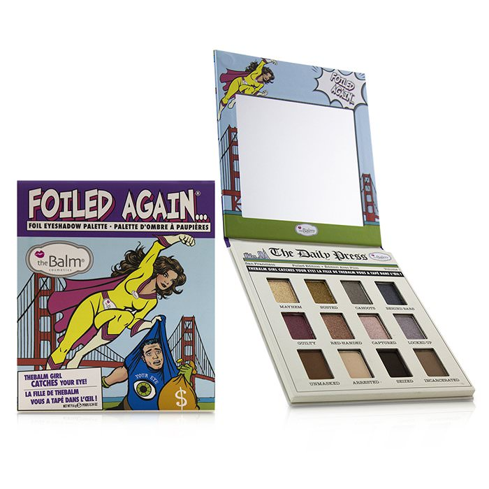 TheBalm Foiled Again Eye Shadow Palette 9.6g