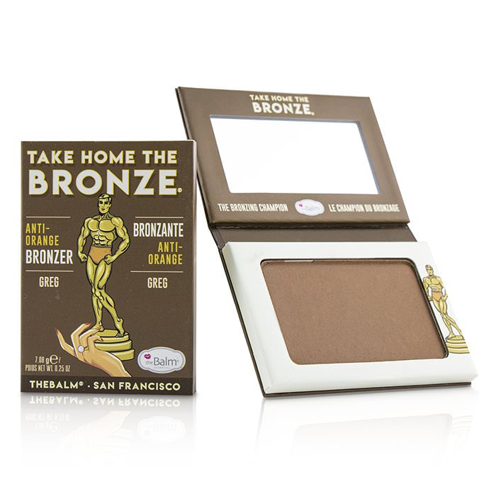 TheBalm Take Home The Bronze Anti Orange Bronzer - # Greg 7.08g