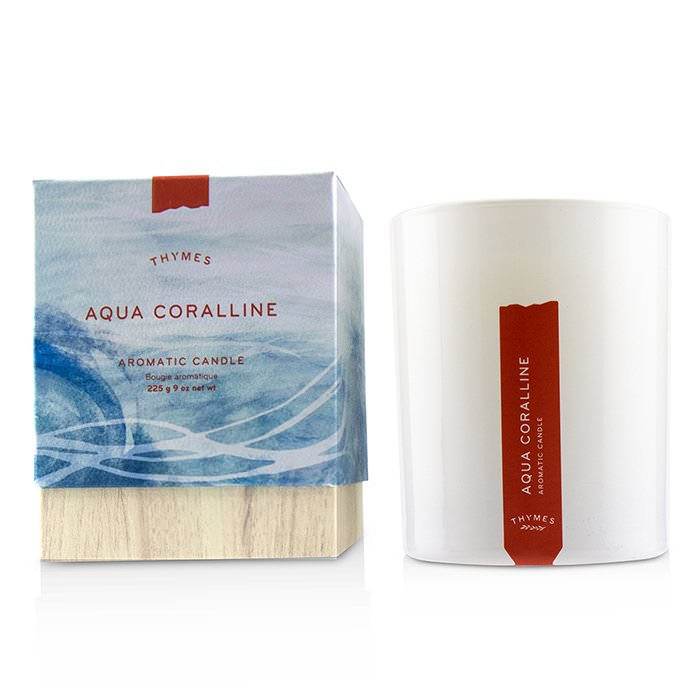 Thymes Aromatic Candle - Aqua Coralline 9oz