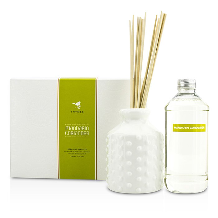 Thymes Reed Diffuser Set - Mandarin Coriander 230ml