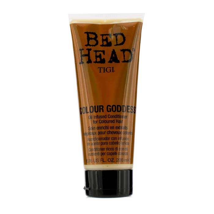 Tigi Bed Head Colour Goddess Oil Infused Conditioner (For Coloured Hair) 200ml