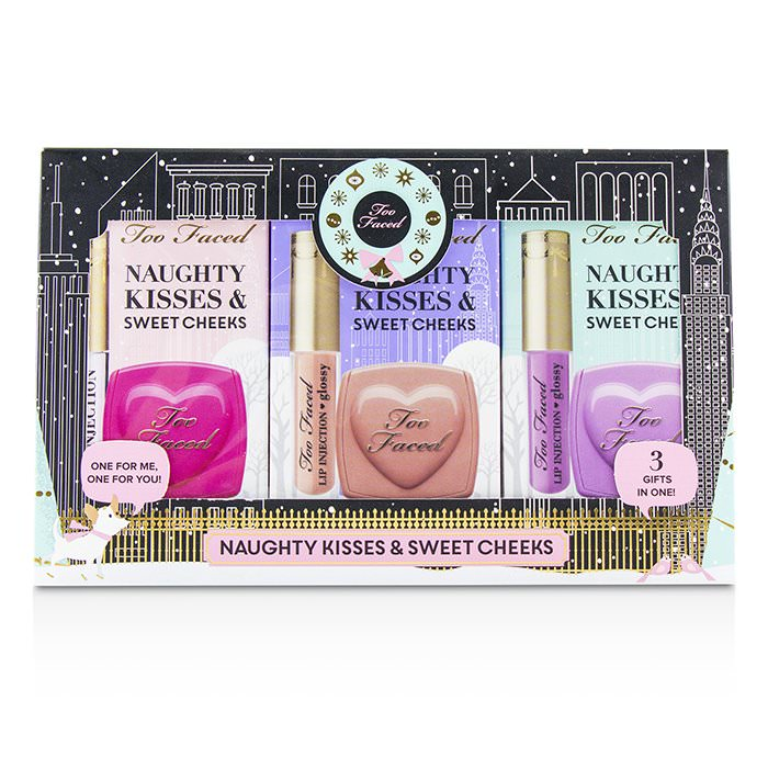 Too Faced Naughty Kisses & Sweet Cheeks Set