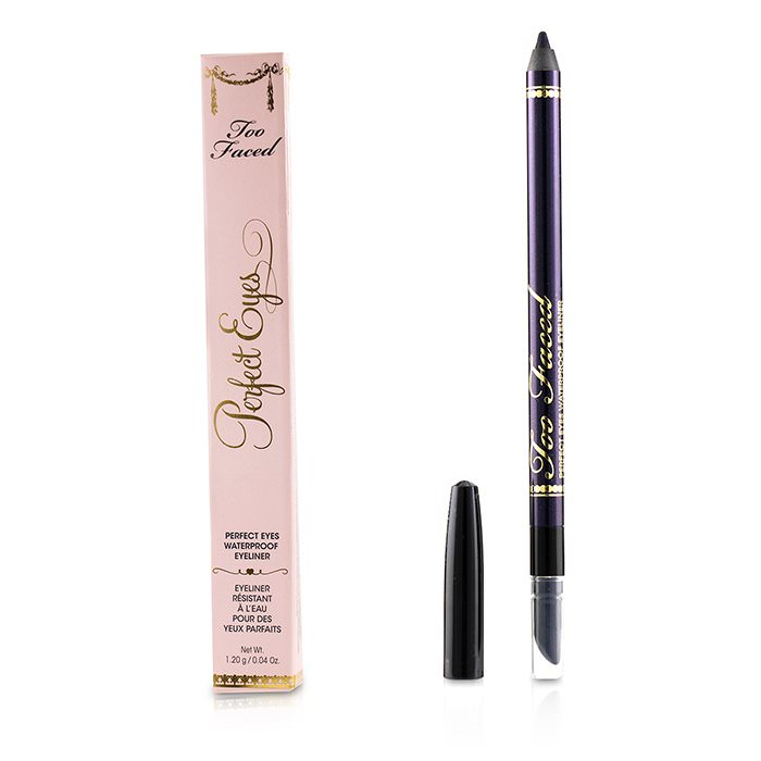 Too Faced Perfect Eyes Waterproof Eyeliner - # Perfect Black Orchid 1.2g