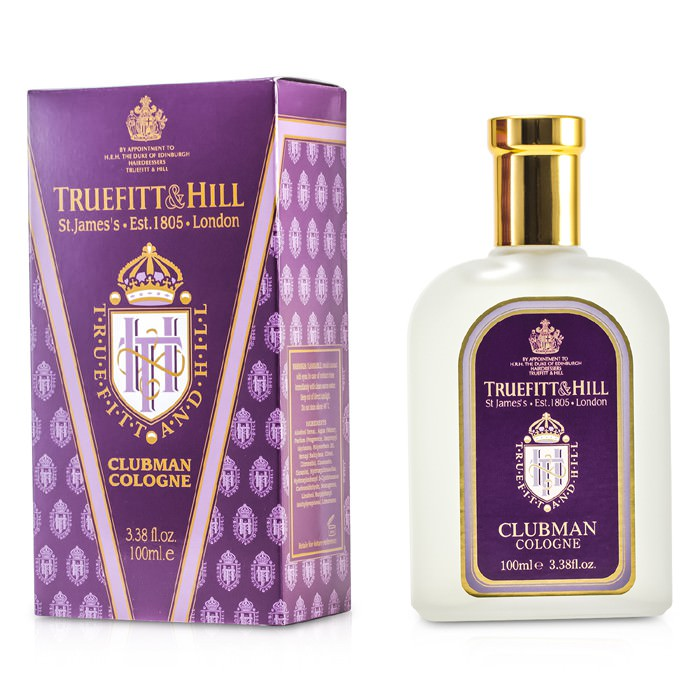 Truefitt & Hill Clubman Cologne Spray 100ml