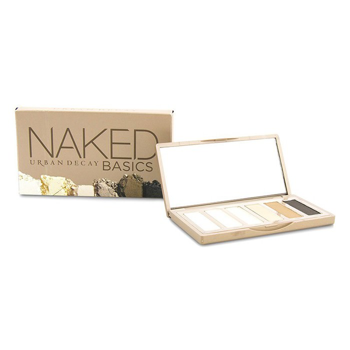 Urban Decay Naked Basics Eyeshadow Palette: 6x Eyeshadow (Crave, Faint, Foxy, Naked2, Venus, Walk of Shame) 6x1.3g