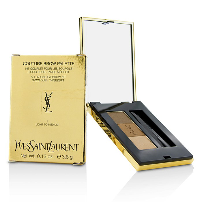 Yves Saint Laurent Couture Brow Palette - #1 Light To Medium 3.8g