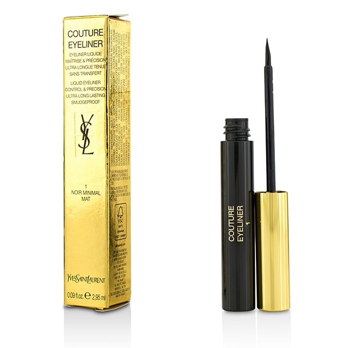 Yves Saint Laurent Couture Liquid Eyeliner - # 1 Noir Minimal Mat 2.95ml