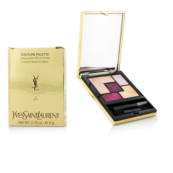 Yves Saint Laurent Couture Palette (5 Color Ready To Wear) #09 (Love/Rose Baby Doll) 5g