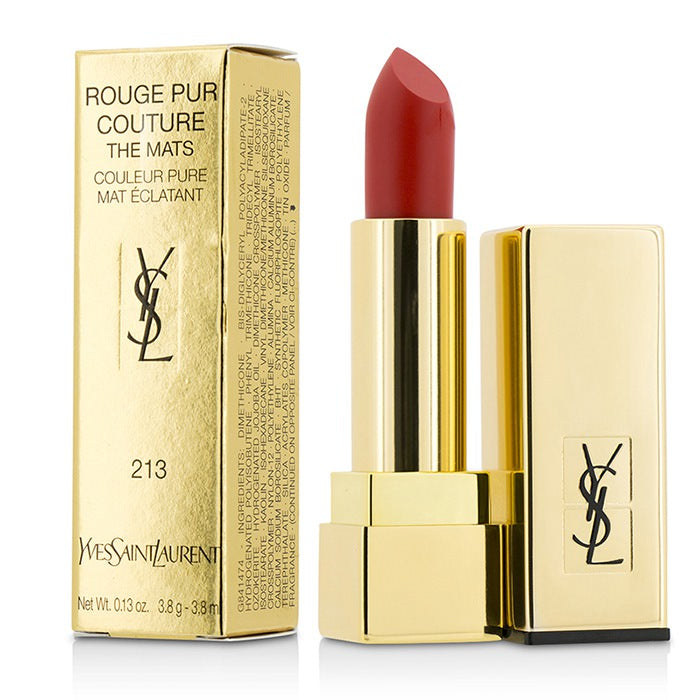 Yves Saint Laurent Rouge Pur Couture The Mats - # 213 Orange Seventies 3.8g