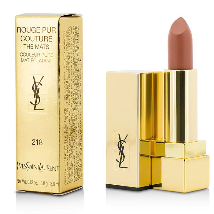 Yves Saint Laurent Rouge Pur Couture The Mats - # 218 Coral Remix 3.8g