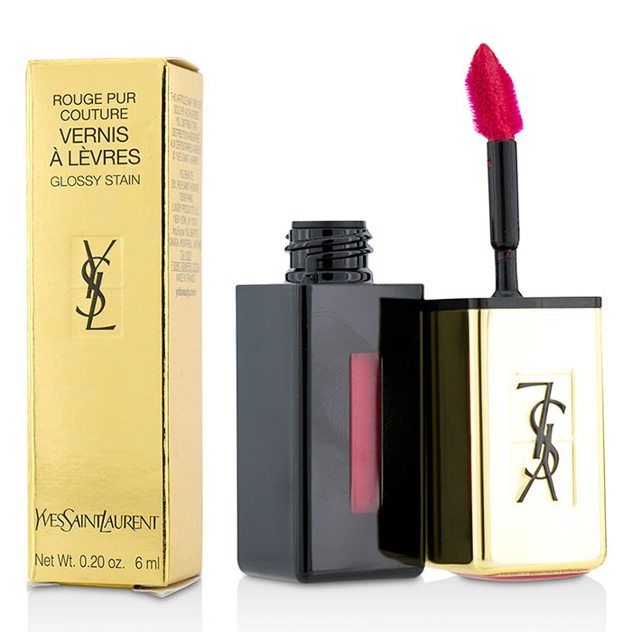 Yves Saint Laurent Rouge Pur Couture Vernis a Levres Glossy Stain - # 11 Rouge Gouache 6ml