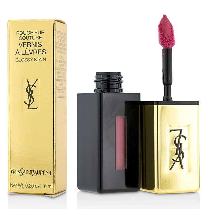 Yves Saint Laurent Rouge Pur Couture Vernis a Levres Glossy Stain - # 5 Rouge Vintage 6ml