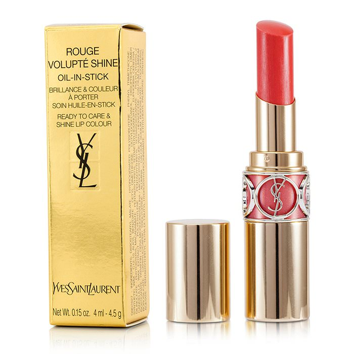 Yves Saint Laurent Rouge Volupte Shine - # 15 Corail Intuitive/ Corail Spontini 4.5g