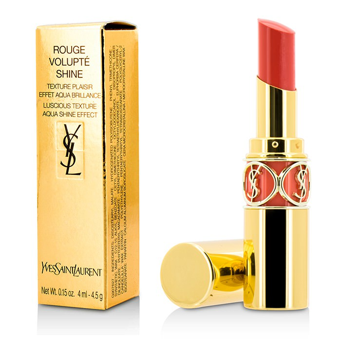 Yves Saint Laurent Rouge Volupte Shine - # 30 Coral Ingenious 4.5g
