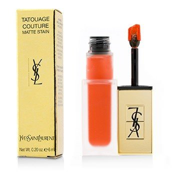 Yves Saint Laurent Tatouage Couture Matte Stain - # 2 Crazy Tangerine 6ml