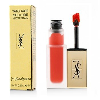 Yves Saint Laurent Tatouage Couture Matte Stain - # True Orange 6ml