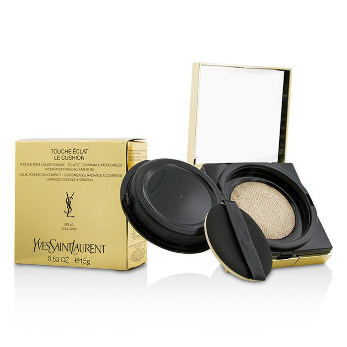 Yves Saint Laurent Touche Eclat Le Cushion Liquid Foundation Compact - #BR40 Cool Sand 15g