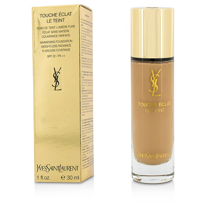 Yves Saint Laurent Touche Eclat Le Teint Awakening Foundation SPF22 - #BR50 Cool Honey 30ml