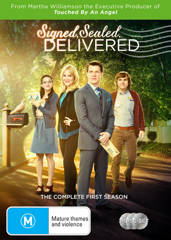 Signed Sealed Delivered Season 1 (3 Disc Set)