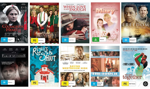 WOMENS BOX SET: 10 DVDs FOR $25