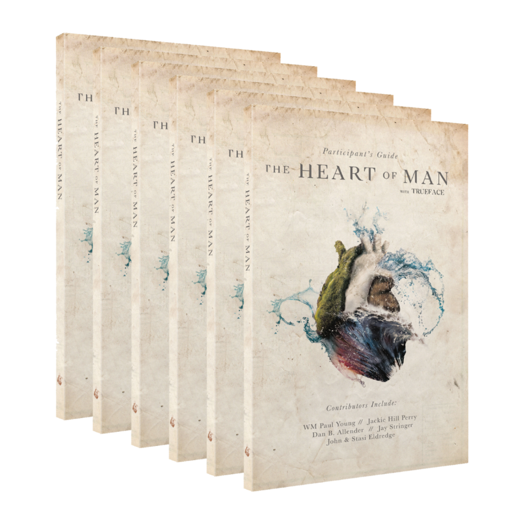 The Heart of Man Guide Small Share Pack - 6 x Participant's Guide