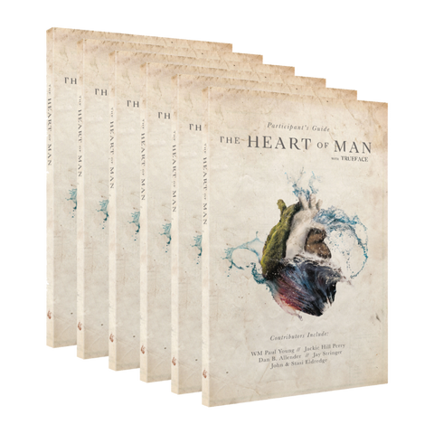 The Heart of Man Guide Medium Share Pack - 12 x Participant's Guide