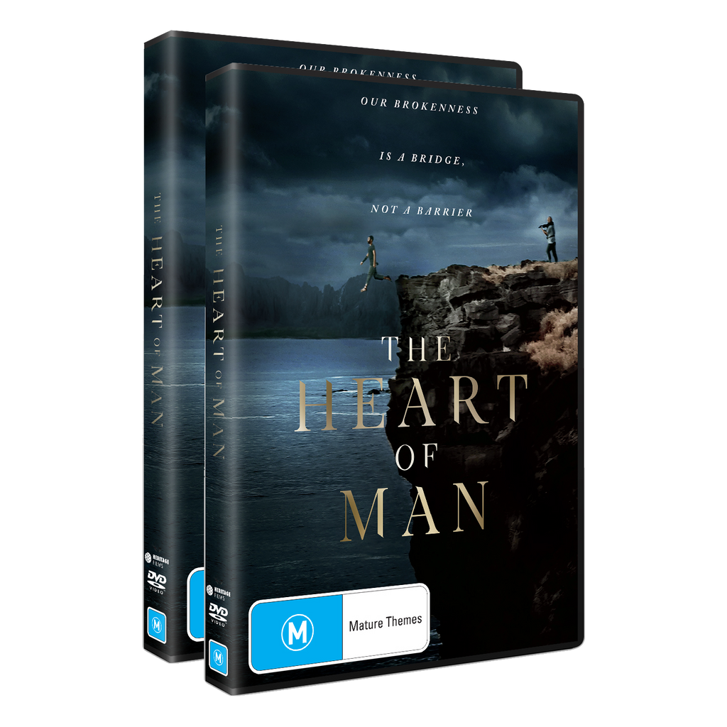 The Heart of Man Small Share Pack - 2 x DVDs