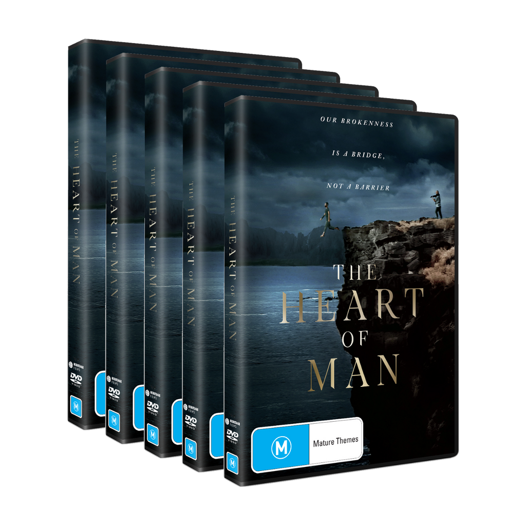 The Heart of Man Medium Share Pack - 5 x DVDs