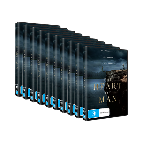 The Heart of Man Large Share Pack - 10 x DVDs