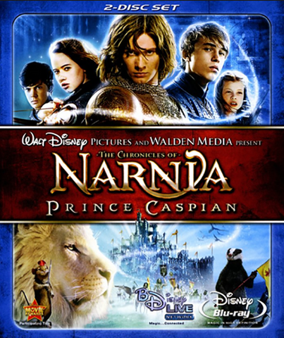 The Chronicles of Narnia: Prince Caspian (Blu-ray dual disc set)