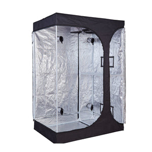 4' x 3' x 6' Fusion Hut 600D Dual Chamber 2-in-1 Grow Tent
