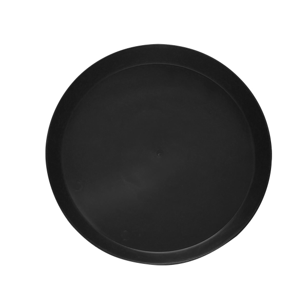 "Alfred's - Black Saucer 14"" Reusable"