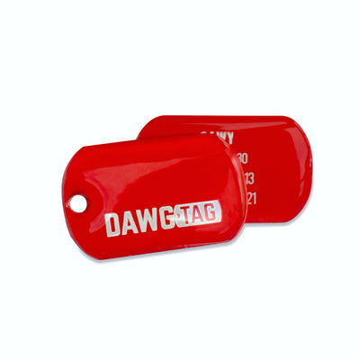 Red Rover: Pair of Tags - DawgTag - Tag Pair
