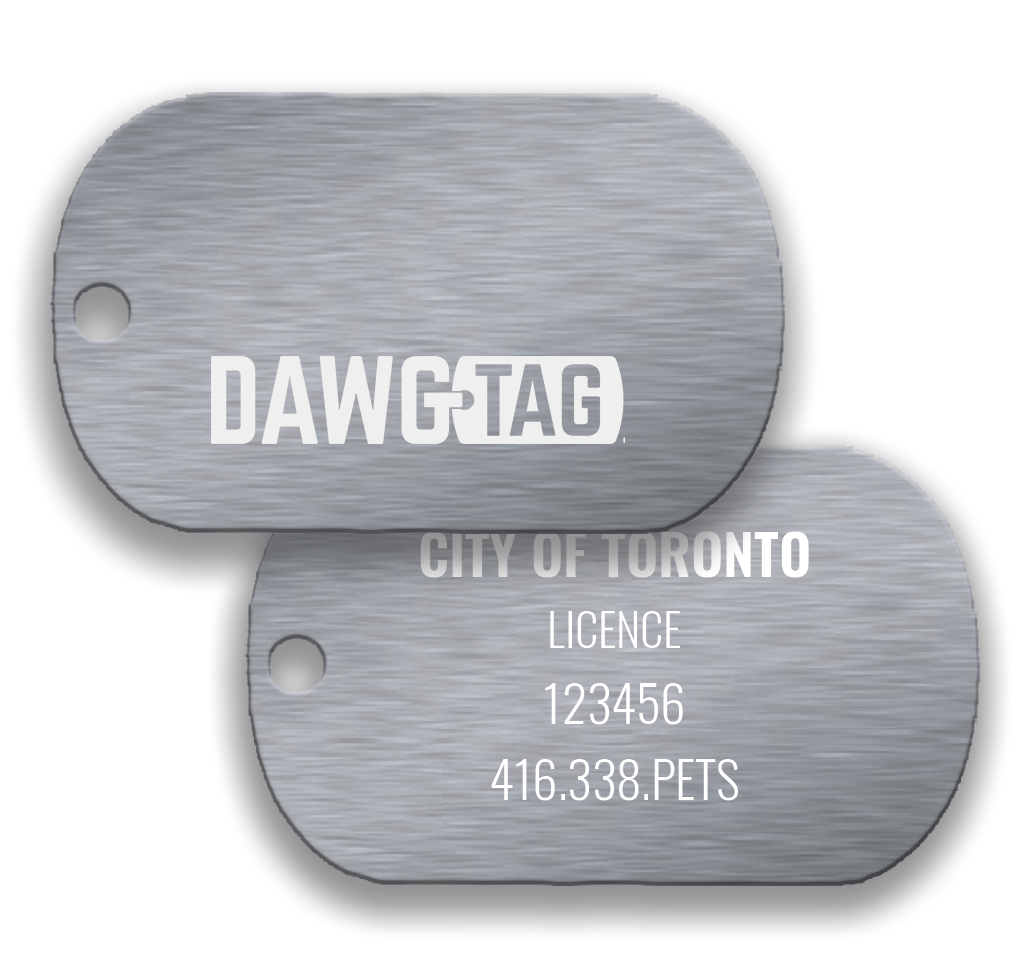 Silverado: Pair of Tags - DawgTag