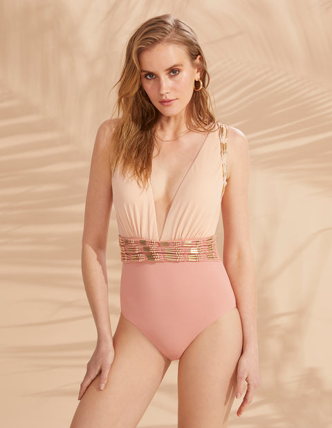 PERA ONE PIECE BLUSH