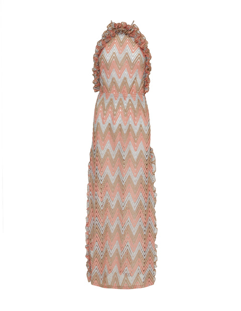 BLISS DRESS CORAL