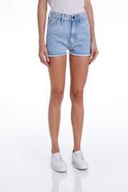 GREENE HIGH SHORTS - DESTROYED DENIM