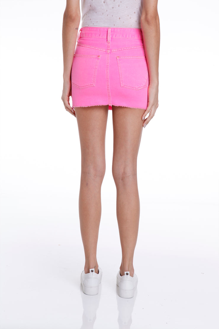 KENMARE MINI SKIRT - PINK
