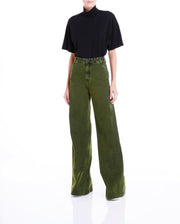ORCHARD PANTALONA PANTS - MILITARY GREEN