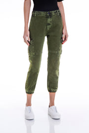 THOMPSON CARGO PANTS - MILITARY GREEN