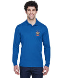 Long Sleeve Plaited Polo - DGPA