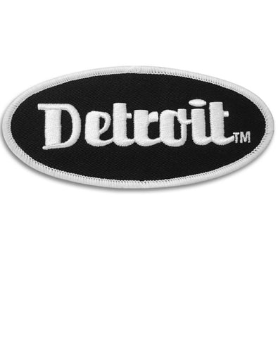 Detroit Oval Patches