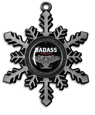 Large Badass Snowflake Ornaments